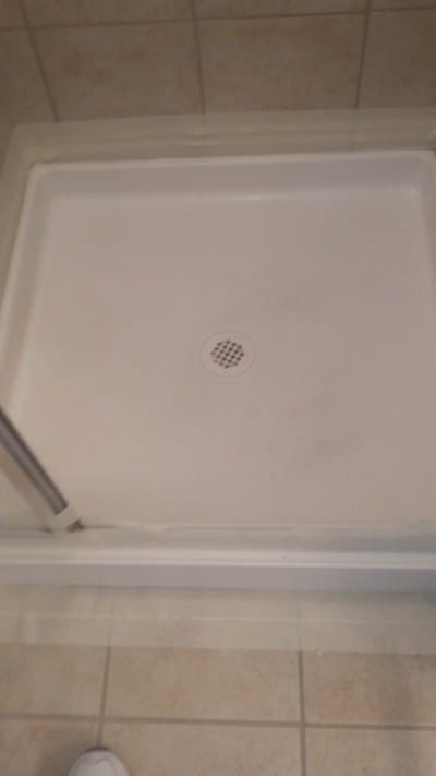 Dallas bathtub pro refinished shower pan