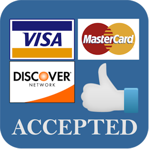 cedit cards accepted